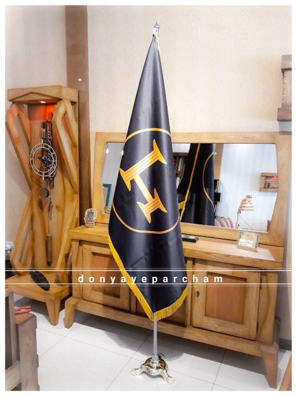 پرچم تشریفات ساتن امریکایی ضخیم