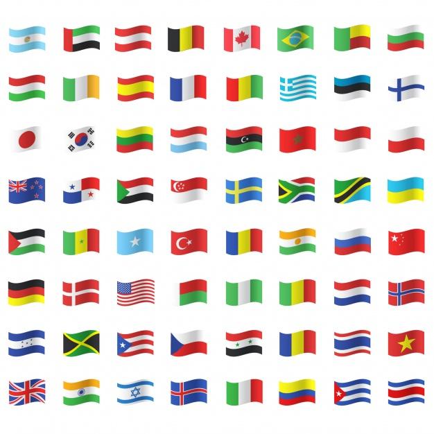 پرچم کشور های اروپایی
